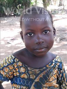 Choose a child to sponsor, like this little girl from Imperi, Amie age 4