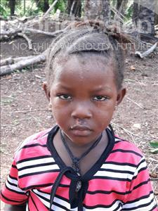 Choose a child to sponsor, like this little girl from Imperi, Mariama age 3