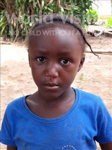 Choose a child to sponsor, like this little girl from Imperi, Kadija age 5