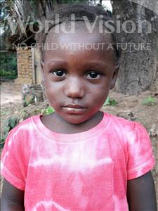 Choose a child to sponsor, like this little girl from Imperi, Lukiatu age 3