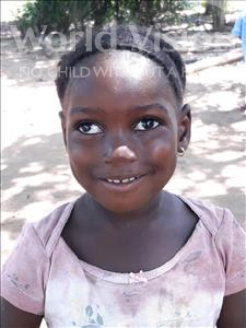 Choose a child to sponsor, like this little girl from Imperi, Adama age 3