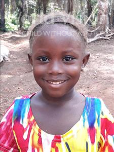 Choose a child to sponsor, like this little girl from Imperi, Regina age 4