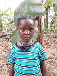 Choose a child to sponsor, like this little girl from Imperi, Gadie age 5