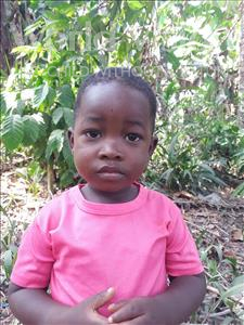 Abdulai, aged 3, from Sierra Leone, is hoping for a World Vision sponsor