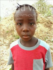 Choose a child to sponsor, like this little girl from Imperi, Rukiatu age 6