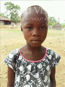 Choose a child to sponsor, like this little girl from Imperi, Mariama age 6