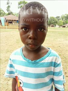 Choose a child to sponsor, like this little boy from Imperi, Claude Mukeh age 6