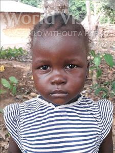 Choose a child to sponsor, like this little girl from Imperi, Marian age 3