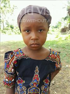 Choose a child to sponsor, like this little girl from Imperi, Deborah Titty age 5