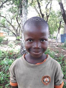 Choose a child to sponsor, like this little boy from Imperi, Alia age 7