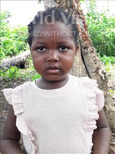 Choose a child to sponsor, like this little girl from Imperi, Aminata age 3