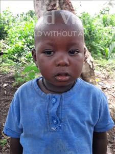 Choose a child to sponsor, like this little boy from Imperi, Habilai age 2