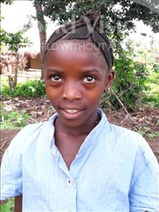 Choose a child to sponsor, like this little girl from Imperi, Isata age 10
