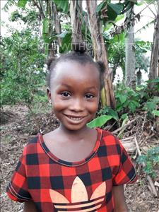 Choose a child to sponsor, like this little girl from Imperi, Isatu age 7