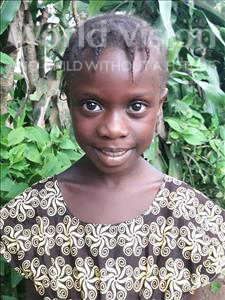 Choose a child to sponsor, like this little girl from Imperi, Anthonet age 6