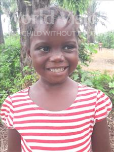Choose a child to sponsor, like this little girl from Imperi, Zuliaka age 4