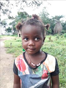 Choose a child to sponsor, like this little girl from Imperi, Baby Mabinty age 3