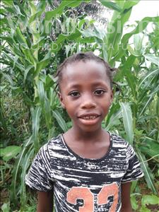 Choose a child to sponsor, like this little girl from Imperi, Jamiatu age 6