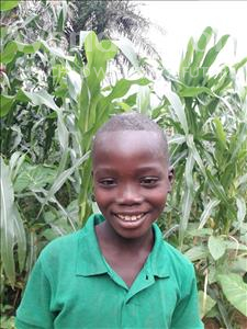 Choose a child to sponsor, like this little boy from Imperi, Mohamed age 8