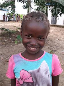 Choose a child to sponsor, like this little girl from Imperi, Aminata age 7
