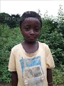 Choose a child to sponsor, like this little girl from Imperi, Kadiatu age 5