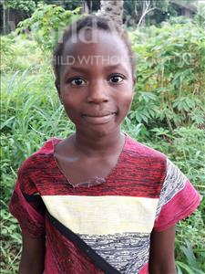 Choose a child to sponsor, like this little girl from Imperi, Kadieja age 5