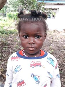 Choose a child to sponsor, like this little girl from Imperi, Yeama age 2