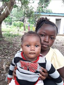 Choose a child to sponsor, like this little girl from Imperi, Isata age