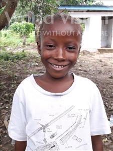Choose a child to sponsor, like this little girl from Imperi, Mattu age 6