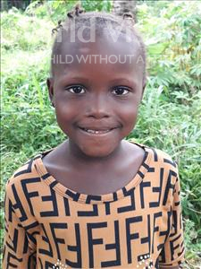 Choose a child to sponsor, like this little girl from Imperi, Tennehma age 5