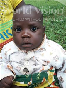 Choose a child to sponsor, like this little girl from Tegloma, Fatu age 1