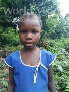 Hawa, aged 6, from Sierra Leone, is hoping for a World Vision sponsor