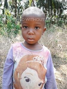 Choose a child to sponsor, like this little boy from Tegloma, Tommy age 2
