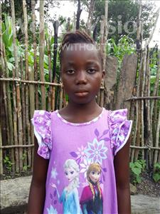 Choose a child to sponsor, like this little girl from Tegloma, Aminata age 7
