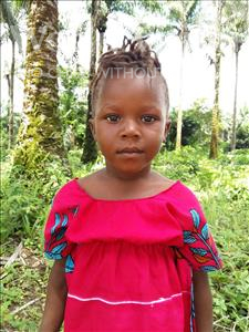 Choose a child to sponsor, like this little girl from Tegloma, Mariama age 4