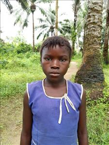 Choose a child to sponsor, like this little girl from Tegloma, Agnes age 8
