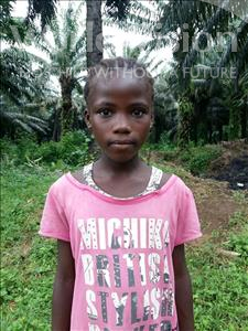 Choose a child to sponsor, like this little girl from Tegloma, Cilina age 9
