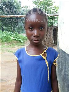 Choose a child to sponsor, like this little girl from Tegloma, Betty age 5