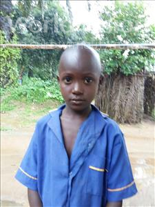Choose a child to sponsor, like this little boy from Tegloma, Stiven age 5