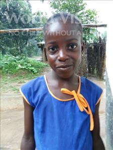 Rukiatu, aged 8, from Sierra Leone, is hoping for a World Vision sponsor