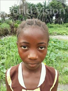Choose a child to sponsor, like this little girl from Jaiama Bongor, Wuyata age 12