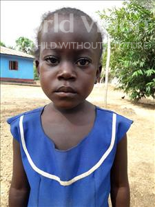 Choose a child to sponsor, like this little girl from Jaiama Bongor, Zainab age 4