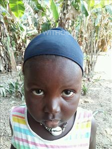 Choose a child to sponsor, like this little girl from Jaiama Bongor, Jenneh age 3