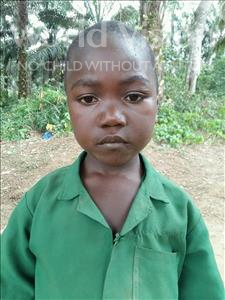 Choose a child to sponsor, like this little girl from Jaiama Bongor, Momoh age 6