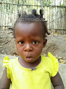 Choose a child to sponsor, like this little girl from Jaiama Bongor, Baby Adama age 2