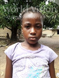 Choose a child to sponsor, like this little girl from Jaiama Bongor, Salamatu age 8