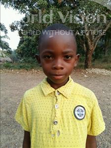 Choose a child to sponsor, like this little boy from Jaiama Bongor, Osman age 8
