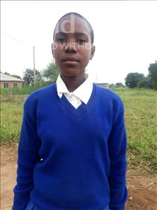 Evelina Silvanus, aged 13, from Tanzania, is hoping for a World Vision sponsor