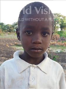 Joshua Moses, aged 8, from Tanzania, is hoping for a World Vision sponsor