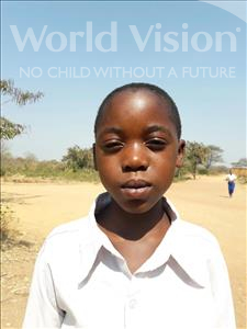 Choose a child to sponsor, like this little girl from Kilimatinde, Maria Musa age 10